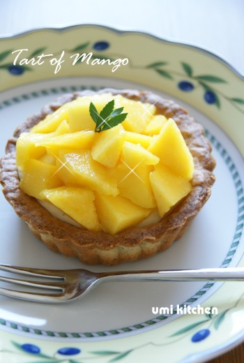 Mango_tart