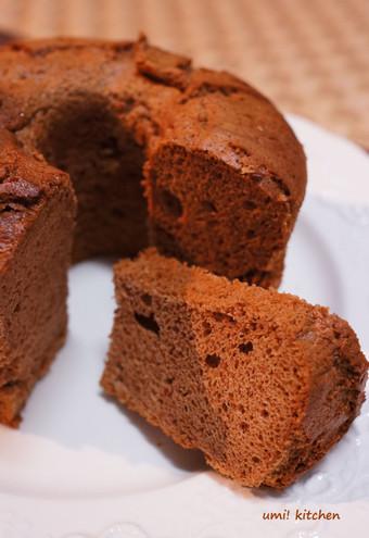 Choco_chiffon_cake